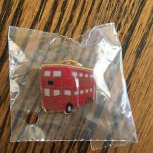 Burberry Limited Edition London Bus Broche Pin